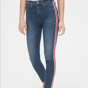 High Rise True Skinny Ankle Jeans NWOT 25P